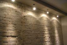 wall lighting/ oświetlenie ściany