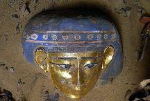 Egypt-Mummies, Masks, Sarcophagus etc