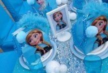 cumple niñas frozen