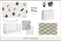 Curated Looks for Less / Curated nursery designs created by designer mamas for mamas. All available online at www.curatednest.com for your one stop shop designer nurseries.