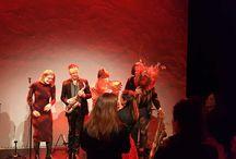 Theater Tobacco Amsterdam optreden Eric Vaarzon Morel / Tobacco Theater Amsterdam. Sfeer impressie optreden Eric Vaarzon Morel op 18 februari 2018