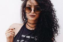 foto inspiração pra cabelo cacheado