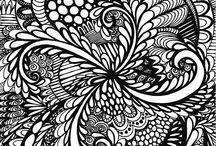 Zentangle und andere Kunst