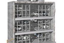 Hệ thống đỗ xe tự động - giàn thép đỗ xe cao tầng / Tư vấn thiết kế hệ thống đỗ xe cao tầng, bãi đỗ xe tự động thông minh, tiện lợi. http://vietnamarch.com.vn/thiet-ke-kien-truc/gian-thep-do-xe/