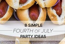Fourth of July, Memorial Day, labor Day Ideas :) / by Tracey Fox Miller