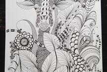Yvonne's doodles