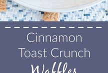 Fun Cereal Themed Recipes!