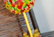 aranjamente candy bar