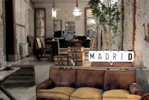 Industrial/Distressed Living Room