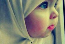 Baby with Hijab