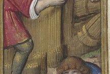 medieval miniature painting