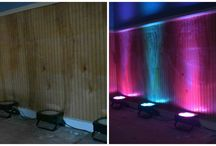 Uplighting / See some photos of how uplighting can transform a room and add class.  / by MixMaster Entertainment Services