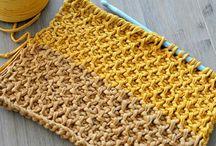 Tunisian crochet style