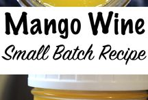 Mango wine and others