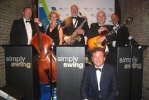 Simply Swing: Corporate Event Band / Our corporate entertainment band plays for Award Ceremonies, Fund Raising Events, Charity Auctions.  We also played at numerous Olympic Parties including the opening night!  www.simplyswing.co.uk/corporate-events