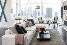 Loft Living / ideas for decorating your downtown loft