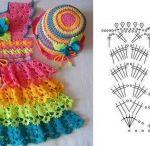 baby vestido crochet