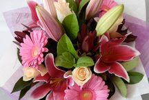 Fresh Flower Bouquets from Twigs / Just a sample of some of the bouquets sent out from Twigs Florist