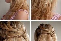 Hairstyles / I AM NOT GETTING MARRIED!!! I need to do Piper's hair for a wedding and these are ideas.