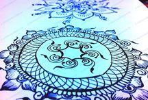 Art - Mandala  / by Donna Hochhalter-Rapske