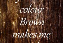 Barva Hnědá