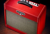 Louis Electric Guitar Amps / Photography of our Amplifiers and Guitar Players using them.