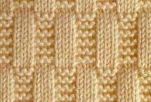 tricô parece tranças