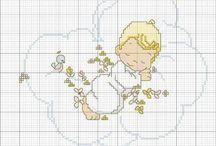 punto croce schemi