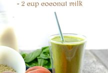 coconut milk smoothie