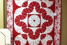 Fans in quilts
