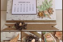 Scrapbooking calendars