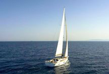 Mimosa, Dufour 560, / Mimosa is our new Dufour 560, available for private yacht charters throughout Greece.
