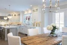 Dining Room and Kitchen Combos