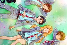 Shigatsu Wa Kimi No Uso / Filled with feels.