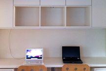 Bureau achterkamer