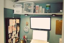 my very own cloffice! / by Kristi Norman