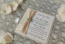 Vintage Wedding Invitations / Vintage Wedding Invitations and Stationery by Lily & Lottie Wedding Stationery