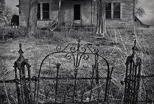 Casa e cose abbandonate