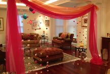 Indian themed deco