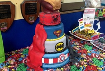 Super Hero Party Ideas / Ideas for a superhero party. Iron Man, Captain America, Batman, and Spiderman birthday party.