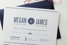 wedding invites / by Erica (Kawai) Ota