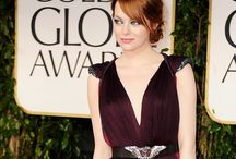 stylewatch: emma stone / yes, i'm obsessed. she planted a flag on that red carpet! / by Belle Dame