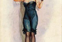 Vintage FemDom Art
