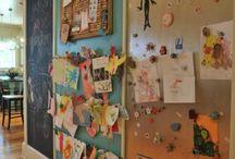 Homeschool Organize / office / homework area / by Vintage Minded Maven *
