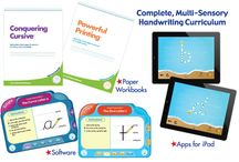 Handwriting Special / Software + Paper Workbook Bundle! 25% off when purchased together #handwriting #cursive #print
