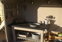 Garden - potting table