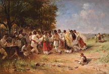 Theodor Aman / Theodor Aman (20 March 1831 – 19 August 1891) was a Romanian painter, engraver and art professor of Macedo-Romanian ancestry. He mostly produced genre and history scenes.