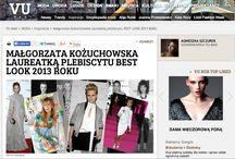Małgorzata Kożuchowska najlepiej ubraną Polką 2013 / Małgorzata Kożuchowska zwyciężyła w plebiscycie magazynu VU MAG Best Look 2013. Aktorka w zestawie marki ARYTON najbardziej spodobała się głosującym czytelnikom. Na tym nie koniec. Gwiazda znalazła się także w gronie najlepiej ubranych 2013 magazynu Gala.pl oraz Grazia Polska.