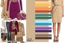 paleta de colores ropa
