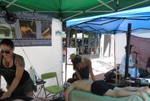 On Site Massage Events / #OnSite Massage at #special #events in #Denver. We provide #chairmassage and #sportsmassage at tons of different venues such as #farmersmarkets, #holidayparties and #healthfairs!